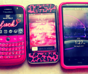 blackberry, htc, and iphone image
