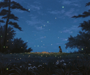 anime, death, and grave of the fireflies image