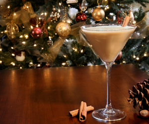 christmas and cocktail image