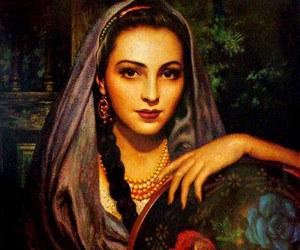 beautiful, art, and woman image