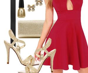 cocktail dress, dress, and fahion image