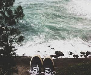 vans, sea, and water image