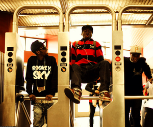 black, funny, and metro image