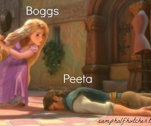 peeta, boggs, and hunger games image
