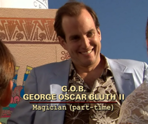 arrested development, gob bluth, and will arnett image