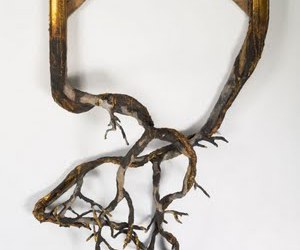frame, gold, and wood image