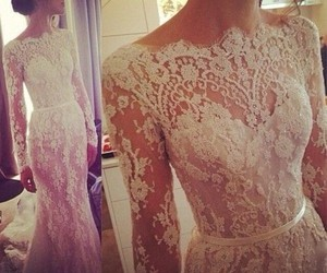 wedding dress, special day, and party tonight image