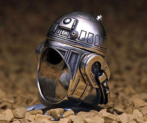 ring, r2d2, and star wars image