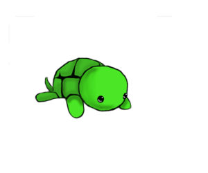green, love, and turtle image
