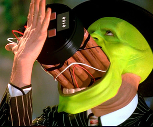 jim carrey, movie, and the mask image