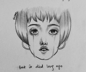 art, cry, and doodle image