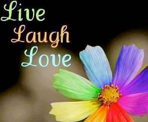give, inspiration, and laugh image