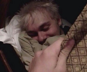 low quality, michael clifford, and 5sos image