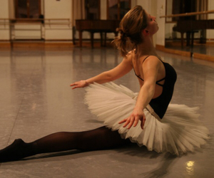 ballerina, dance, and floor image