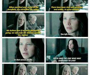 katniss everdeen and love image