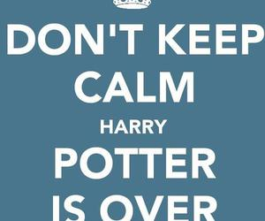 harry potter, keep calm, and calm image