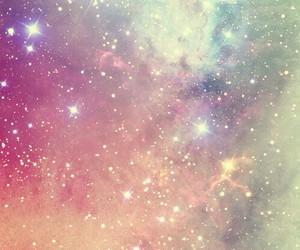 galaxy, wallpaper, and stars image