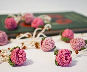 accessories, pink, and rose image