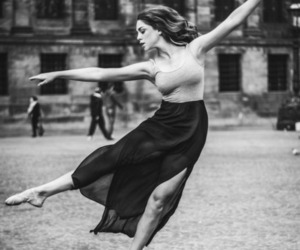 dance, ballet, and woman image