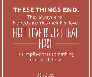 quotes, attachments, and love image