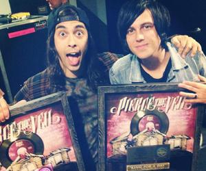 vic fuentes, kellin quinn, and sleeping with sirens image