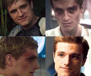 peeta, catching fire, and peeta mellark image
