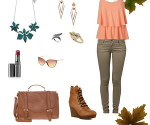 casual, fall, and fashion image