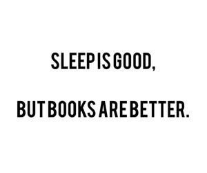 book, sleep, and better image