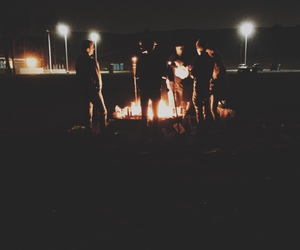 boys, dark, and fire image