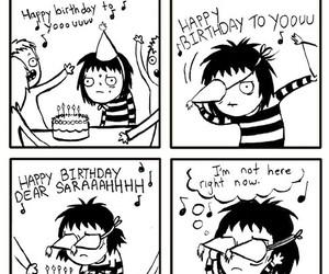 birthday, comic, and sarah andersen image