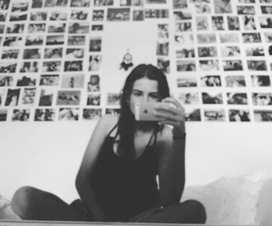 girl, iphone, and memories image