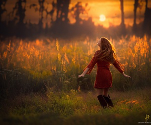 dance, field, and girl image