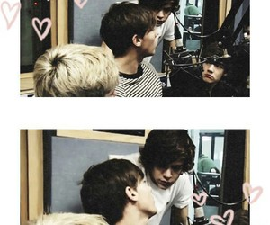 hearts, larry, and 1d image