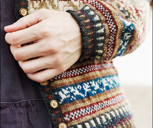sweater and cardigan image