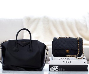 bags, luxury, and chanel image