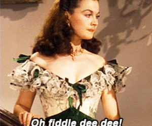 beautiful, classic, and Gone with the Wind image