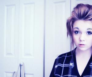 girl, disregardhope, and hair image
