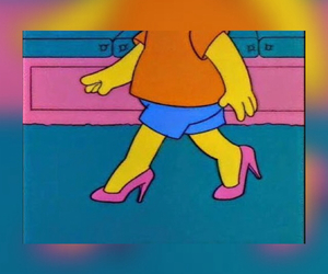 bart simpson, fashion, and heels image