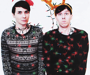 Dan And Phil Christmas Sweater.Is It Too Early To Be Excited For Christmas On We Heart It