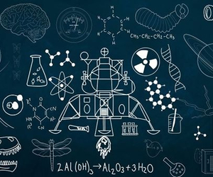 astronomy, biology, and chemistry image