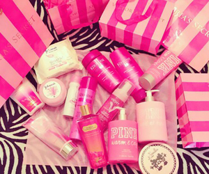 pink, beauty, and girly image