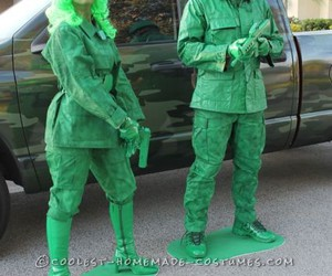 costume, couple, and green image