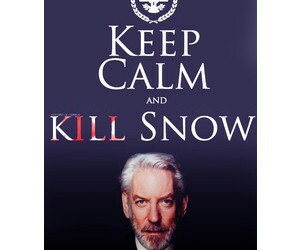 keep calm, kill, and snow image