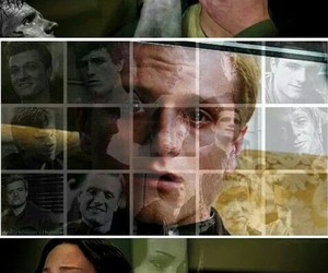 hunger games and katniss image