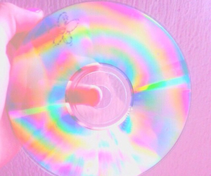 cd, pink, and pastel image