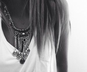 fashion, hair, and black and white image