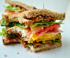 sandwich, food, and lunch image