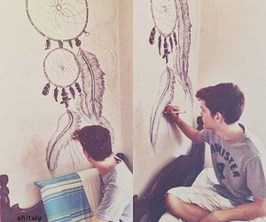 drawing, boy, and Dream image