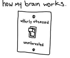 brain and obsessed image