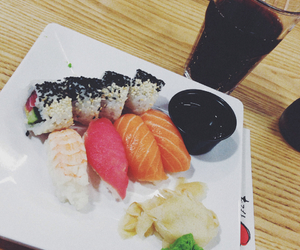 food, lovely, and sushi image